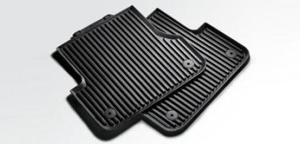 a3 3 door 4 door 5 door rear rubber floor mats