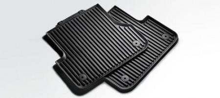 ac maxfloormat row genuine front mat mats for logo com rubber audi floor dp with black amazon set accessories