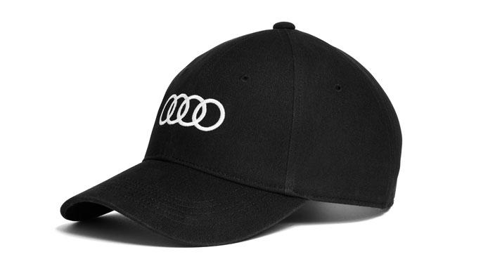 Unisex Baseball Cap Black Audi Merchandise