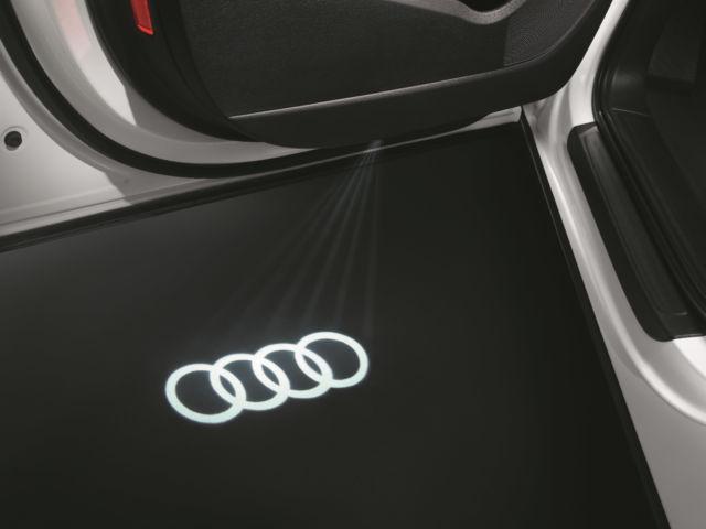Audi Beam – LED Audi rings for door entry